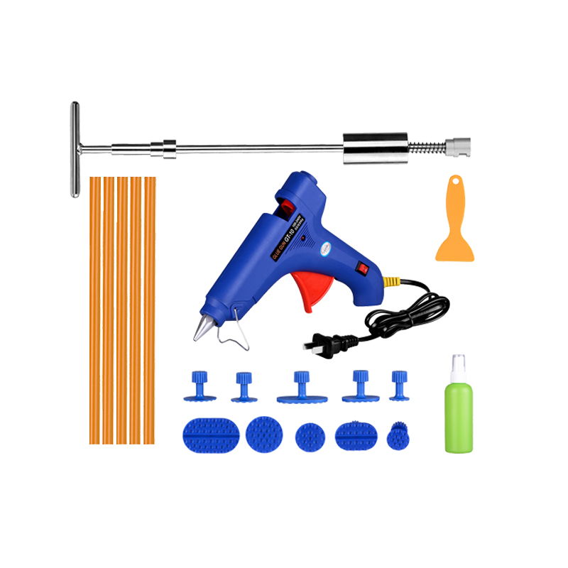 Professional super pdr tools kit car paintless dent removal tools set high quality slide hammer - High quality exterior paint set ...
