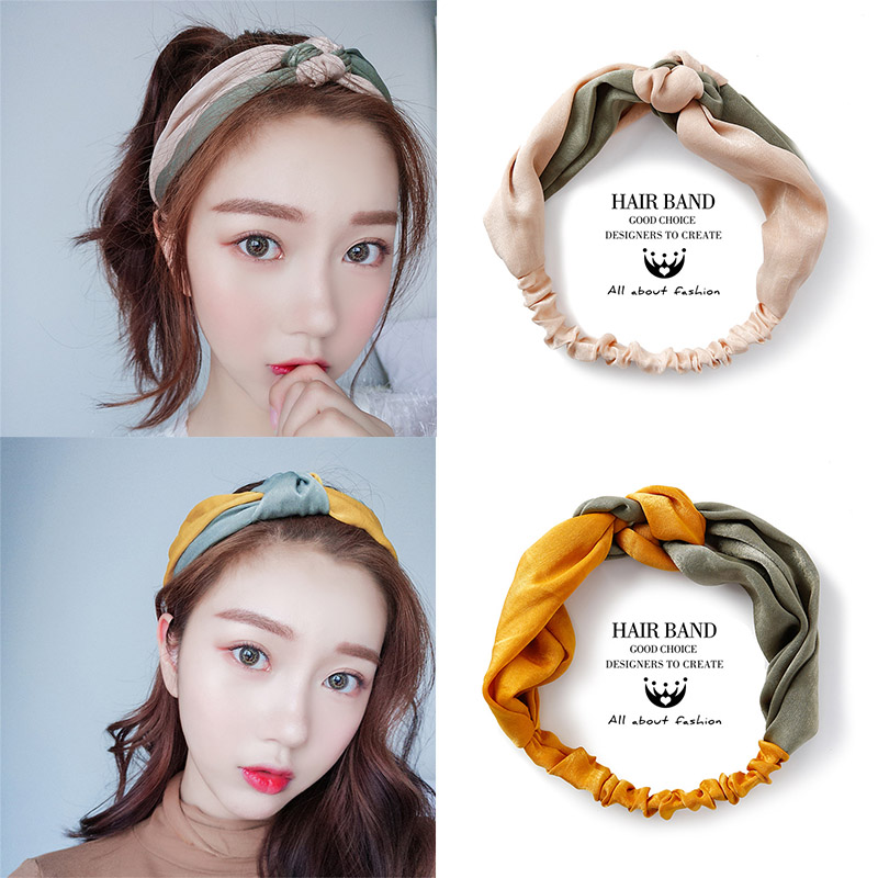 Aliexpress.com : Buy 2018 New Knotted Flower Headbands For