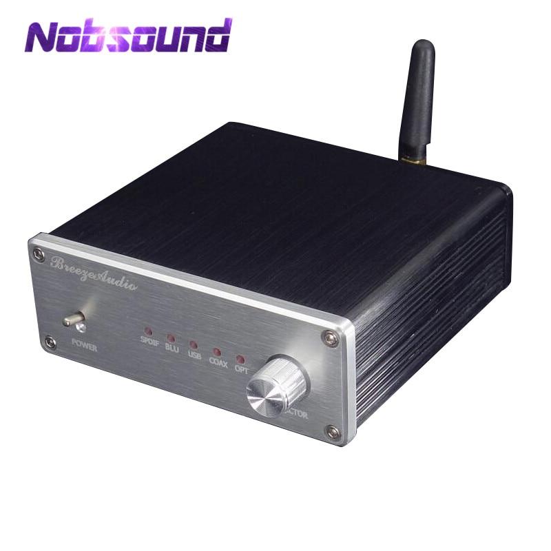 Nobsound Hi-Fi AK4490 XMOS USB DAC Audio Decoder SPDIF AUX COAX OPT 384K 32BIT чехол samsung jelly cover j3 2017 gold
