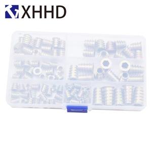 Image 2 - Internal And External Teeth Furniture Screw Nut Set Assortment Kit Box M4 M5 M6 M8 M10