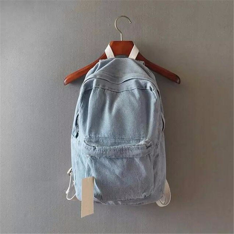 HTB1dRQSKpXXXXbgXXXXq6xXFXXX0 - Denim backpack school bags for girls deep blue and light blue