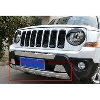 Voiture ABS Avant Inférieur Bumper Protector Garde Bar Pour Jeep Patriot 2011 2012 2013 2014 2015 2016 [QP1040]