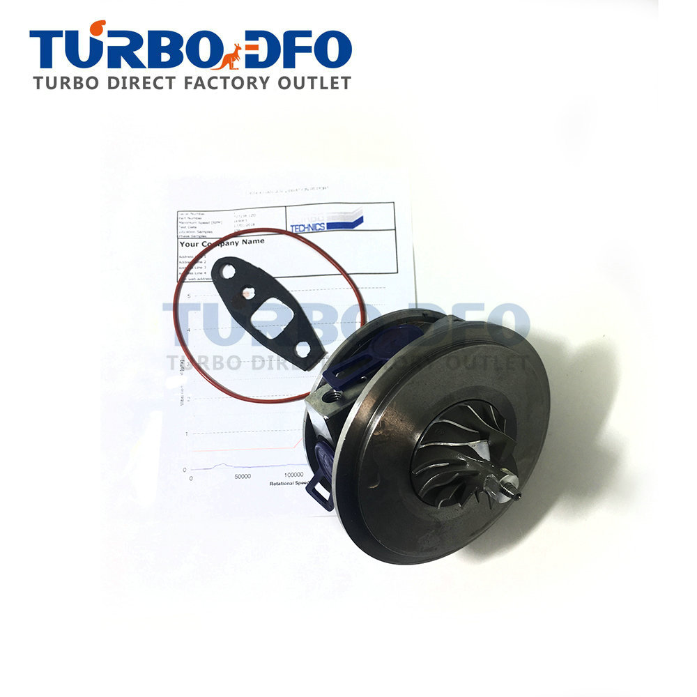 For Mercedes Smart -MCC Smart Roadster MC01 60 Kw 82 HP M160-1 3Zyl. 699 Ccm - Turbo Charger Core 727238-0001 Turbine Cartridge