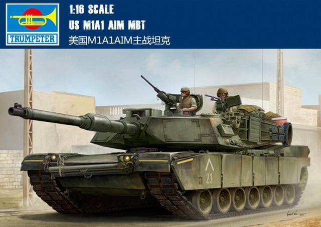 717a1ac0b0687e Trumpeter 1/16 scale US M1A1 AIM MBT 00926 main battle tank US army new