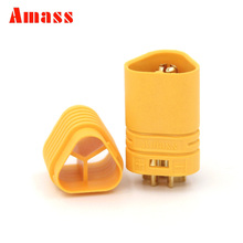 1 Pair Amass MT60 3.5mm Motor Plug / Connector Set for RC ESC to Motor