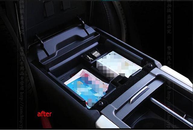 Plástico! Plataforma De Almacenamiento Contenedor Caja Apoyabrazos Central 1 Unids Para Range Rover Evoque 2012-2015