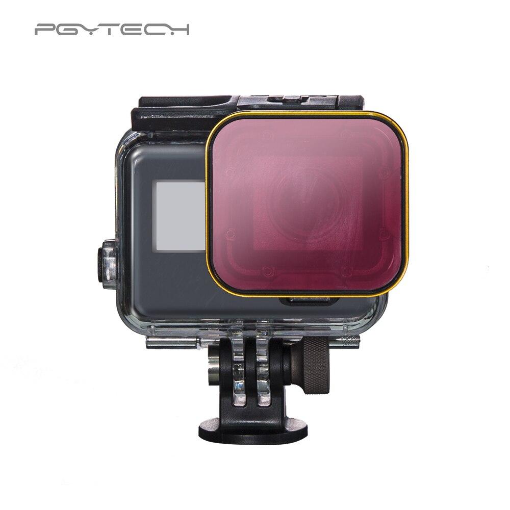 PGYTECH Super Suit filter for GoPro Hero 6 5 Diving Filter housing version housing exclusive filter For GoPro Camera lens filter