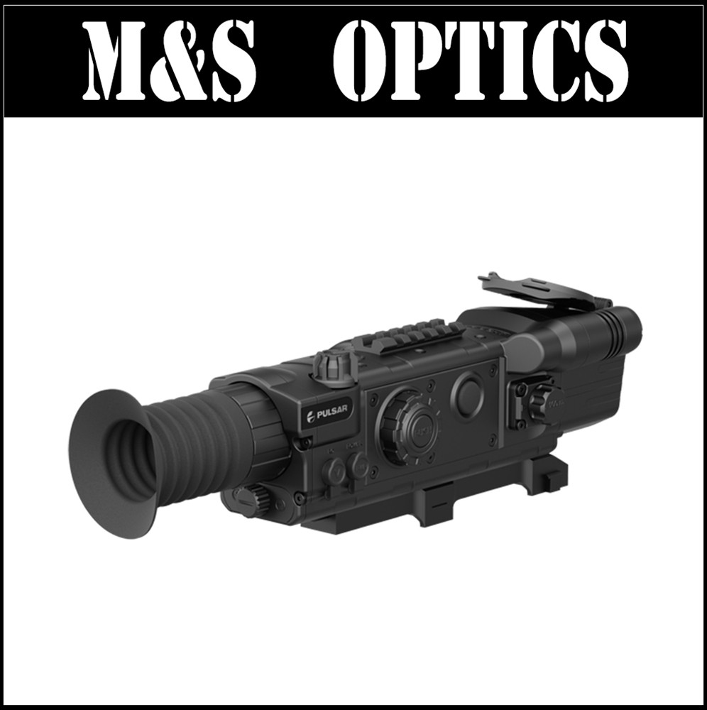 High Quality Pulsar NV Digisight LRF N850 Night Vision Riflescope with Built In font b Rangefinder