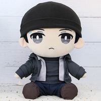 Soft Stuffed 30CM Detroit Become Human Plush Doll Toys For Children/Kids Connor Anime Plush Doll Toys Christmas Gift F27401
