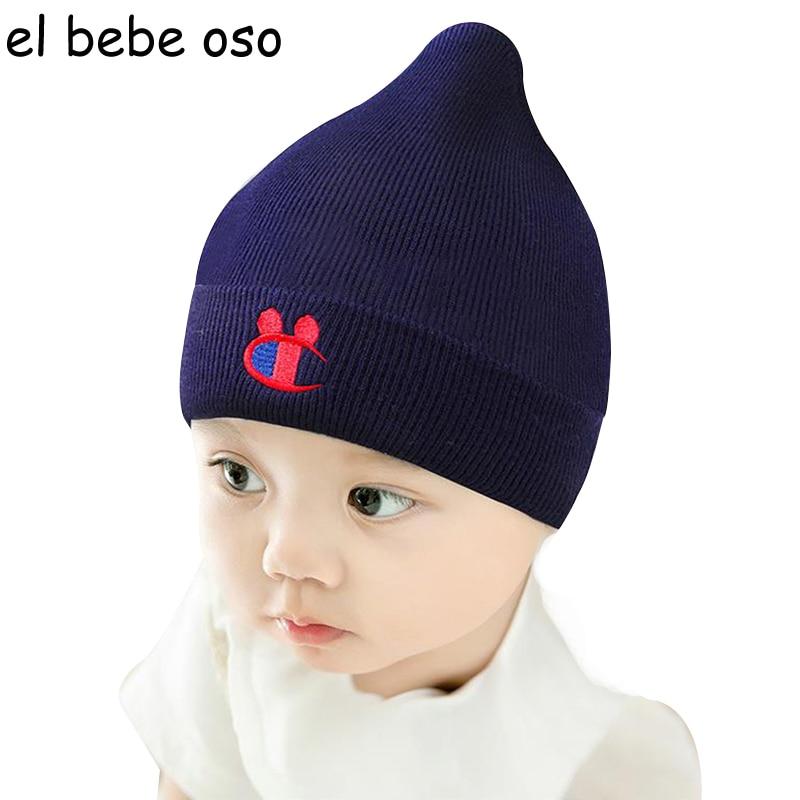 a0c28a4ac680 0-12 M Hiver Épais Bébé Tricot Chapeau Enfants Chaud Protéger Oreille chapeaux  Garçon Fille Infantile En Bas Âge Mignon Crochet Beanie Nouveau-Né Cap XL101