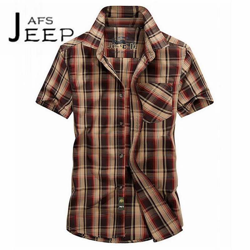 JI PU 3XL to M Summer Man Striped Casual Short sleeve Slim Shirt,Younger field Active Verano camisa de manga corta cotton