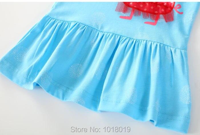 ⑧Nuovo 2018 Marchio di Qualità 100% Cotone Neonate Vestono Bambini ... 689c2413801