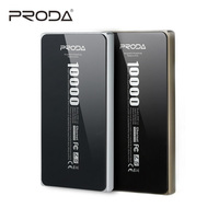 Remax Proda Powerbank 10000 Mah Alloy Slim Polymer External Battery Pack 10000MAh Poverbank For Xiaomi IPhone Universal Charger