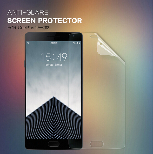 Nillkin Scrub  front +camera film for One Plus 2  A2001 protective film for One Plus Two screen protector