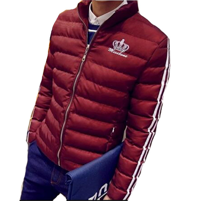 TG6206Cheap wholesale 2016 new Han edition tide male cotton-padded jacket winter coat of cultivate one's morality short coat