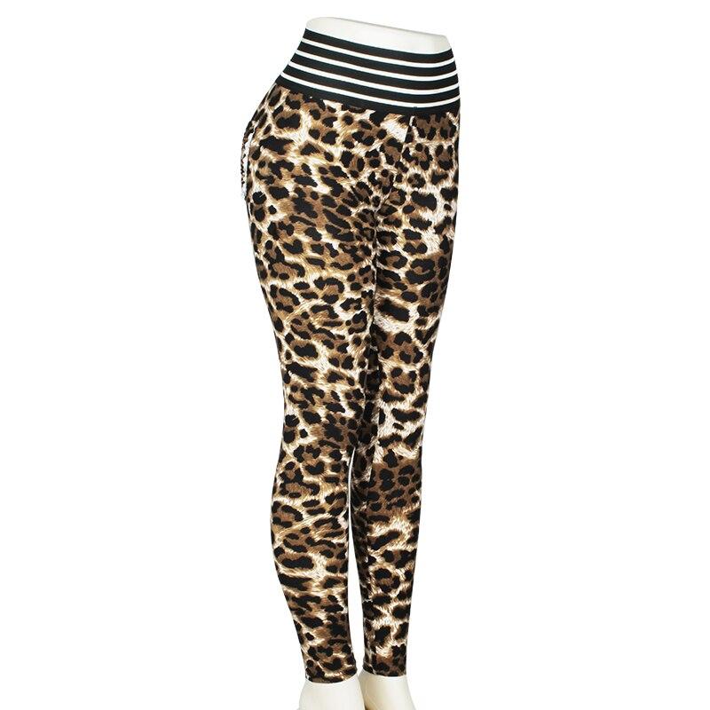 Normov Women Workout Leggings Fashion Leopard Leggings For Fitness Legging Push Up Femme Leggings Elastic Sportswear Leggins