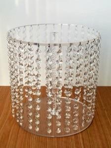 acrylic crystal wedding centerpiece/table centerpiece/flower stand/wedding decoration/road lead for wedding/wedding pillar