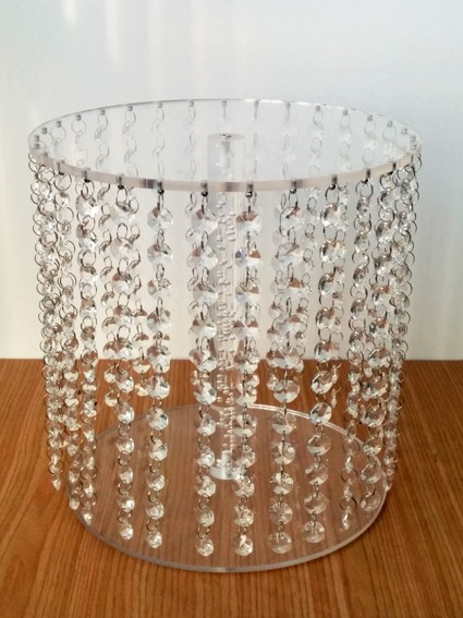 akrilo krištolo vestuvių papuošalas / stalo dekoravimo elementas / - Šventės ir vakarėliai - Nuotrauka 1