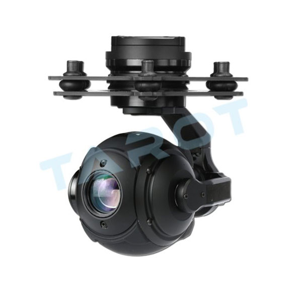Tarot PEEPER 3-axis gimbal 10x optical zoom 1/3 CMOS sensor camera mount for model aircraft FPV enthusiasts tarot tl100a17 gimbal shock absorber assembly for 3 axis camera mount