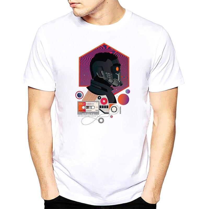 2017 Fashion Men T-Shirt Movie Guardians Of The Galaxy I Am President! Print T Shirt Clothes Casual Short Tops Tees s-xxxl