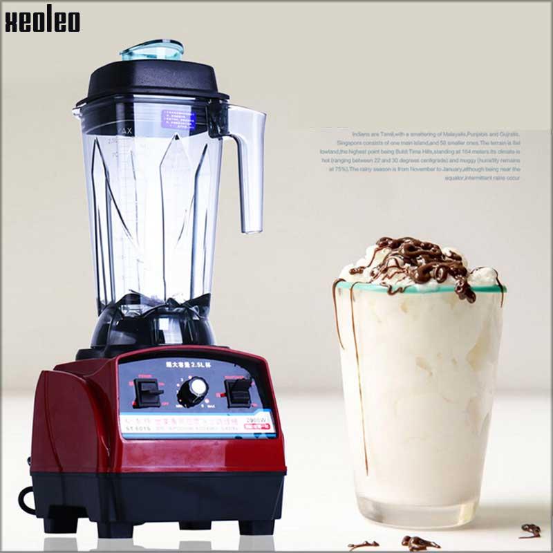 Xeoleo блендер миксер 2.5L 2000 Вт коммерческий блендер 220 В/50 Гц сделать сок/молочный коктейль/Соевое молоко/смузи соковыжималка машина