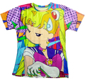 2015 novos dos desenhos animados Sailor Moon impressão 3d t camisa Harajuku t shirt mulheres street wear camisetas plus size S-XXL transporte da gota