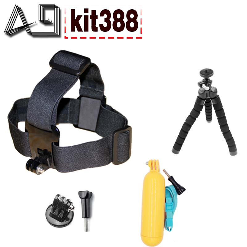 A9 action camera accessori treppiede galleggiante testa bobber set - Macchina fotografica e foto