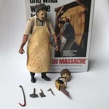 40th Anniversary 18cm The Texas Chainsaw MASSACRE Ultimate Leatherface PVC Action Figure Doll cd sweet action the ultimate story