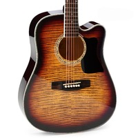 Beautiful Tone Tiger Acoustic Guitar Authentic 40inch 41inch Wooden Guitar Beginners Guitar Novice Jita Free Delivery