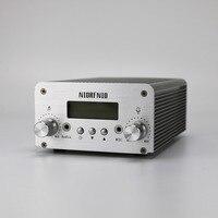 15 Вт серебро Цвет FM стерео PLL Беспроводной передатчик Kit + аудио кабель + автомобиль присоски антенна