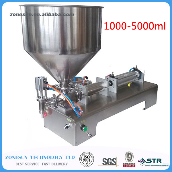 (1000-5000ml) pneumatic volumetric Softdrin liquid filling machine(pneumatic liquid filler for oil, water, juice, honey, soap)  цены