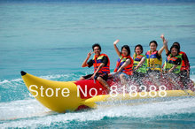 hot sale water entertainment toys inflatable banana boat-3 sets-Free shipping
