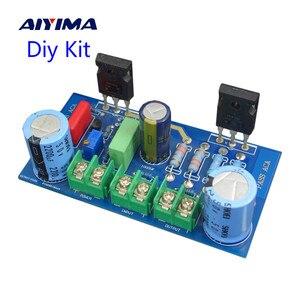 Image 1 - Zestawy wzmacniacza Aiyima PASS 8W Single Ended klasa A efekt pola wzmacniacz lampowy Diy Kit Super LM1875 1969