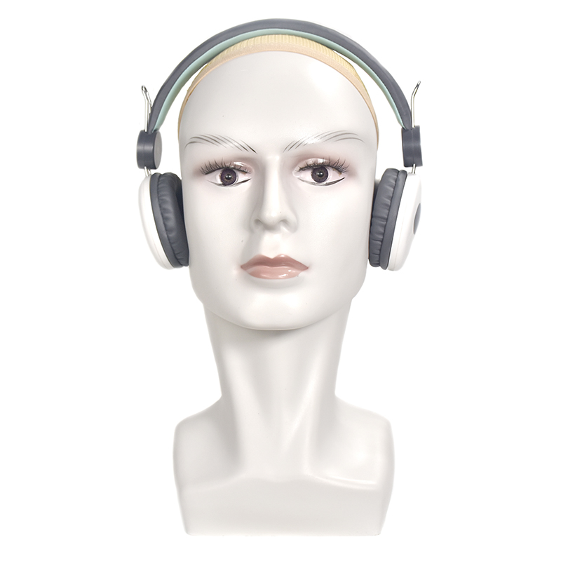 Male Mannequin Head For Hat/ Wig/ Headphones Display Manikin Heads Model