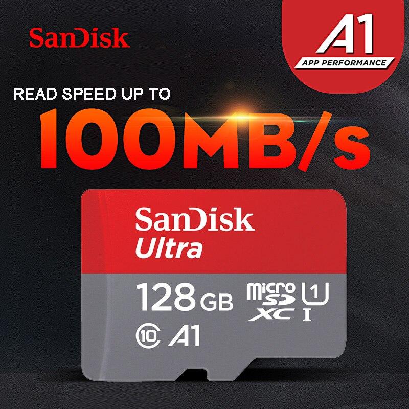 SanDisk Ultra карта памяти 64 Гб 128 ГБ 256 Гб 400 Гб microSDXC 32 Гб 16 Гб microSDHC TF карта Class10 A1 UHS-I micro SD карта-3