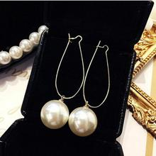 Punk 2018 New Fashion Earring Personality Temperament Wild Simple Pearl Long Ladies Earrings Wholesale Sales Hot Sale