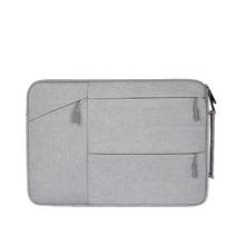 Серый цвет ноутбук рукав 13,3 «аксессуары для ноутбуков Сумка для macbook air 13 xiaomi mi ноутбук prolaptop сумки для мужчин