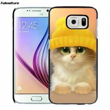 Gato bonito animal hard case capa do telefone para htc m9 m10 one x a9 4i m8mini 826 626 para xiaomi mi4 mi5 max 4c remi3 redmi note 2 3