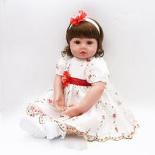 Dollhouse 55cm adorable chucky Handmade Silicone Vinyl Baby Reborn Dolls Kids Princess Toys Children bonecas bjd brinquedos bjd