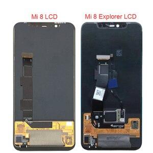 Image 3 - Super Amoled LCD Screen Für Xiaomi Mi 8 LCD MI 8 Explorer Display Digitizer Montage Touch Screen Für Xiaomi Mi8 LCD Mi 8 SE LCD