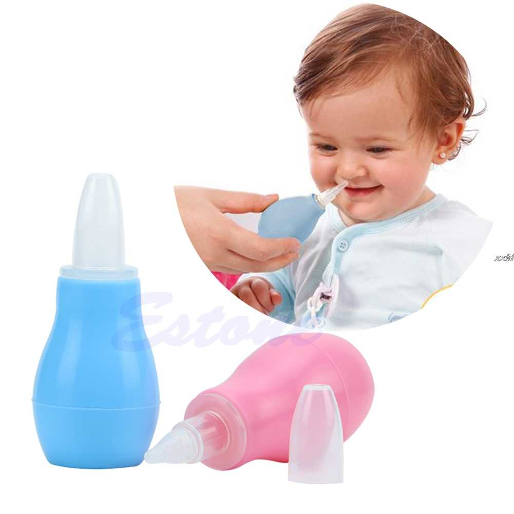 Kids Nasal Vacuum Mucus Suction Aspirator Soft Tip Runny Nose Cleaner  Drop shipping