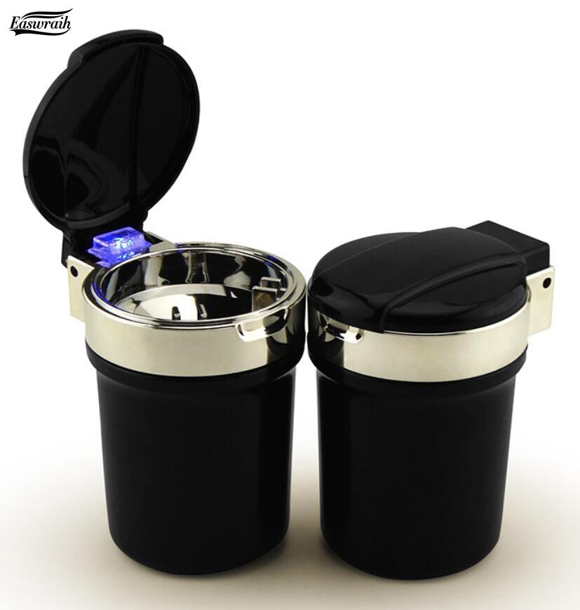 Gift Car LED Ashtray Cigarette Ash Holder For Volvo XC90 XC60 C30 C70 S40 S60L S70 S80L V40 V50 V70 S90 Accessories