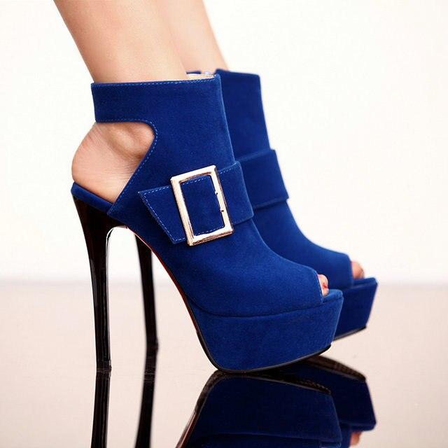 Aliexpress.com : Buy Black Red Blue Gladiator peep toe shoes women