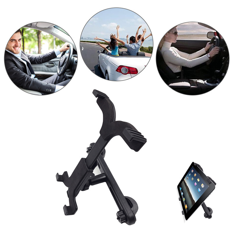 Car Back Seat Tablet Stand Holder Headrest Mount Phone Holder Universal for iPad PC Stan ...