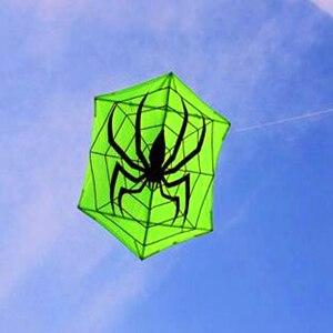 Livraison gratuite de haute qualité grand cerf-volant Hexagonal cerf-volant araignée cerf-volant tissu nylon ripstop avec cerf-volant ligne volant jouets d'extérieur