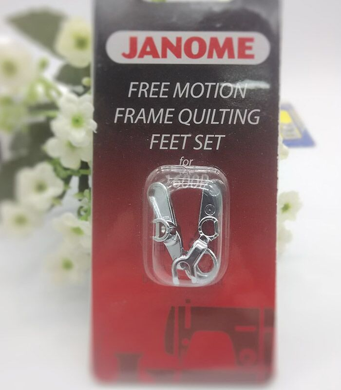 JANOME Free Motion Frame Quilting Feet Set for 1600p Convertible Free Motion Frame Quilting Feet Set # 767-434-005