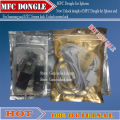 New Unlock dongle of MFC Dongle fFor Iphone  for  All Jailbreak Phone  with Ipower dongle and OTG cable ,Free shipping