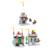 Kits de construção do modelo 3d diy montagem de brinquedos castelo soldado iluminai building blocks presente educacional para crianças