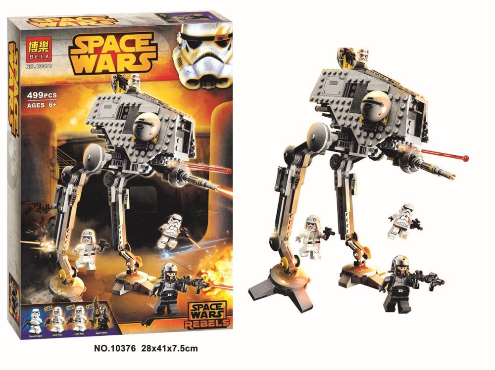 Compatible LegoINGlys Star Wars Series 75083 Classic AT-DP 499pcs Model Building Bolcks Toys For Children Gift