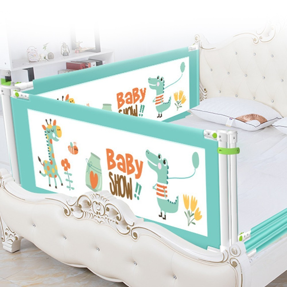 Baby Bed Fence Baby Safety Kids Playpen Safety Gate Child Care Anti-fall Fence Crib Rails Security Fencing Children Guardrail